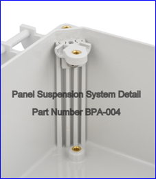 Panel Suspension System Detail